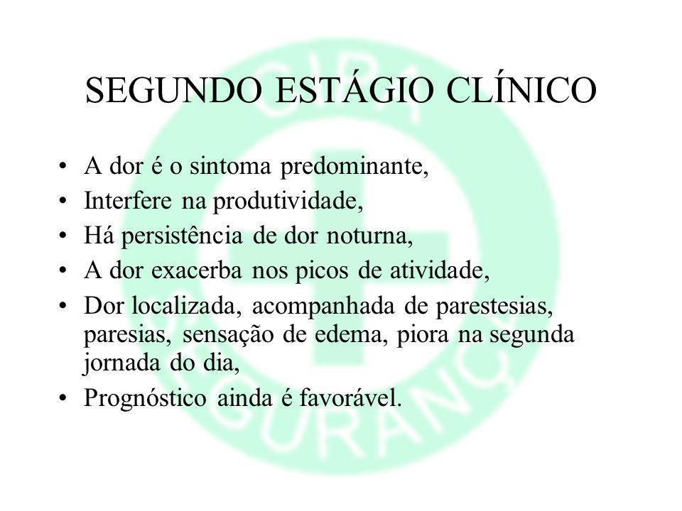 SEGUNDO ESTÁGIO CLÍNICO