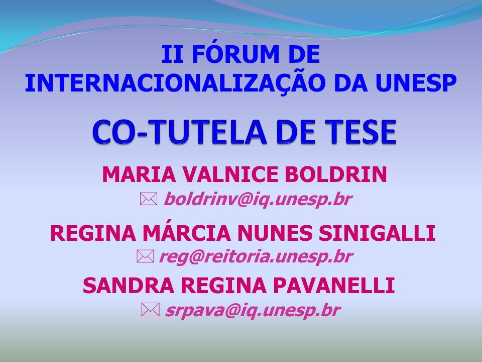 MARIA VALNICE BOLDRIN  boldrinv@iq.unesp.br