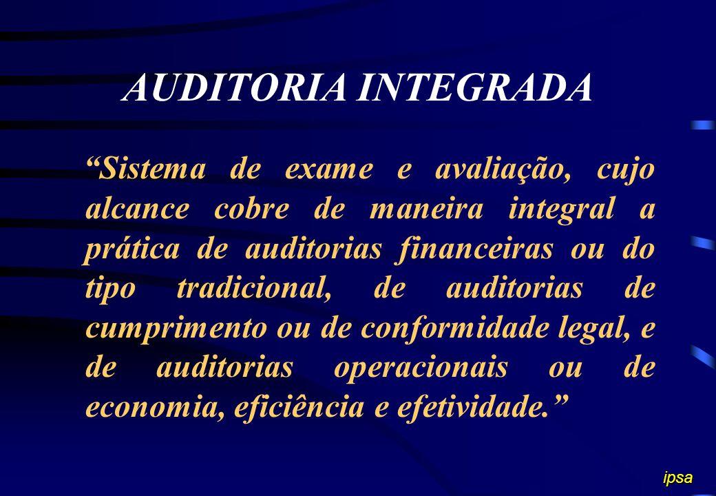 AUDITORIA INTEGRADA