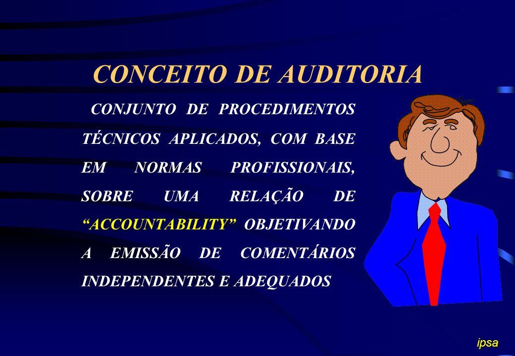 CONCEITO DE AUDITORIA