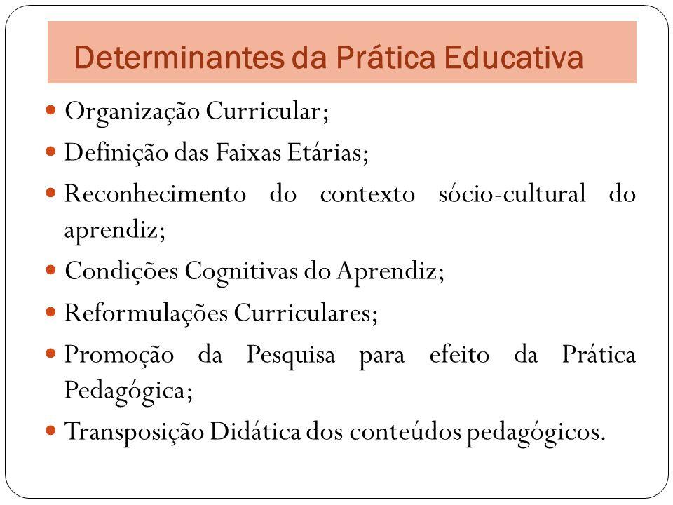 Determinantes da Prática Educativa