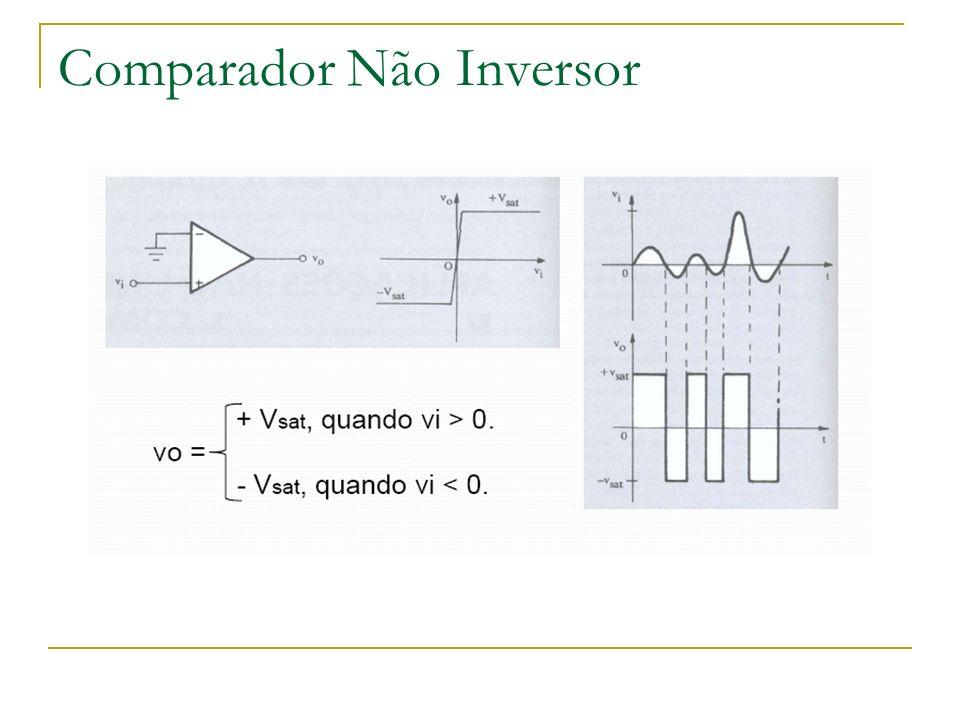 Comparador Não Inversor