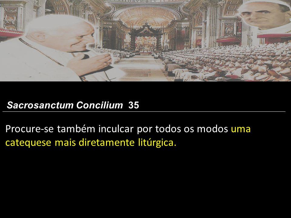 Sacrosanctum Concilium 35