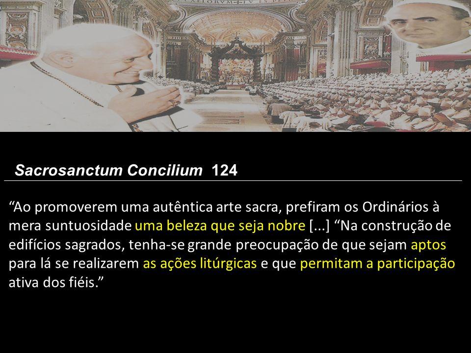 Sacrosanctum Concilium 124