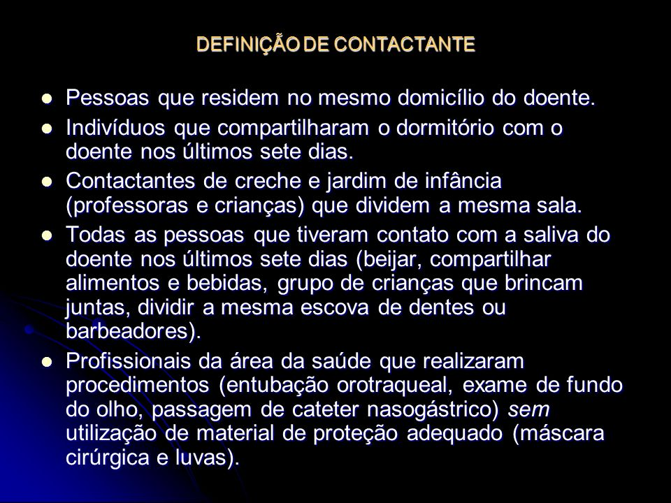DEFINIÇÃO DE CONTACTANTE
