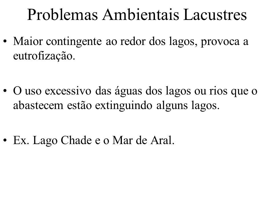 Problemas Ambientais Lacustres