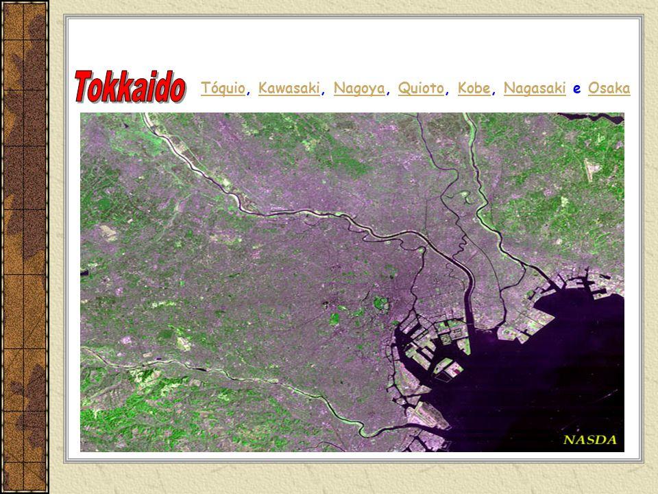Tokkaido Tóquio, Kawasaki, Nagoya, Quioto, Kobe, Nagasaki e Osaka