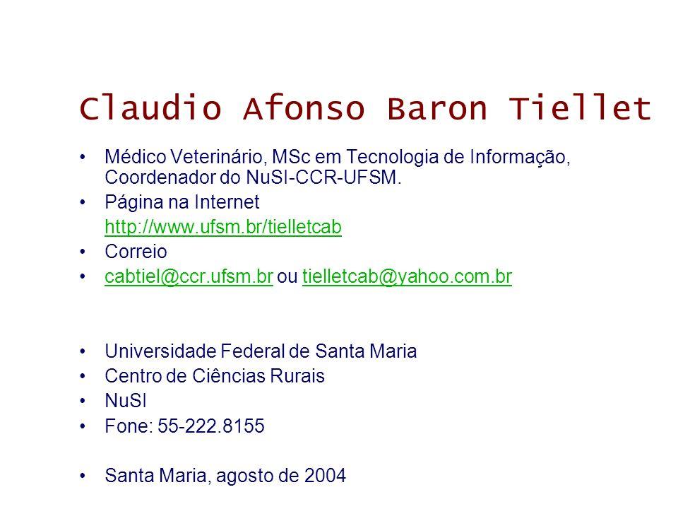 Claudio Afonso Baron Tiellet
