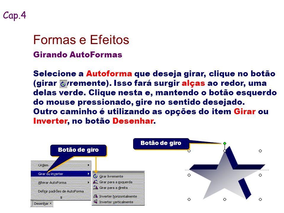 Formas e Efeitos Cap.4 Girando AutoFormas