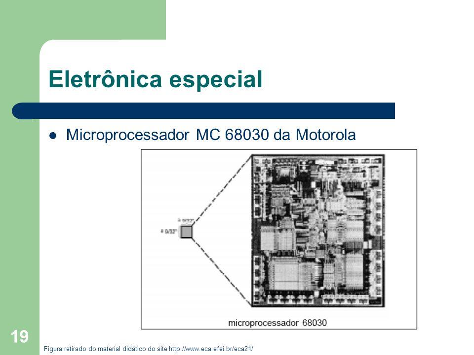 Eletrônica especial Microprocessador MC 68030 da Motorola