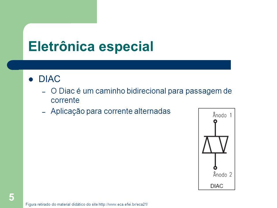 Eletrônica especial DIAC