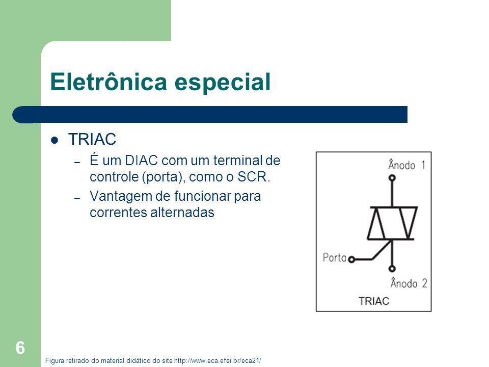 Eletrônica especial TRIAC