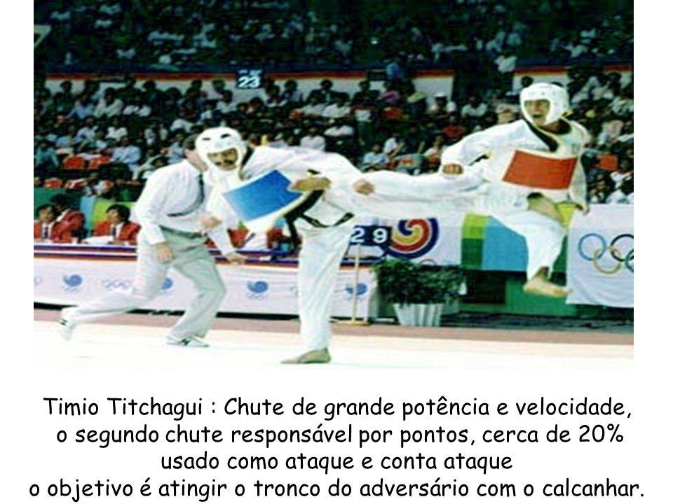 Timio Titchagui : Chute de grande potência e velocidade,