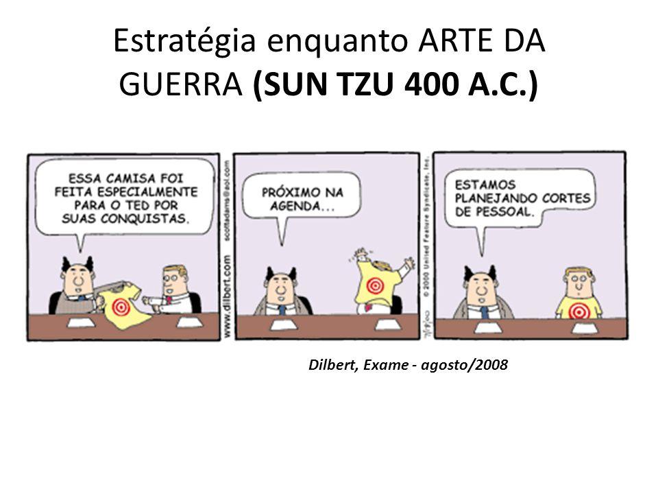 Estratégia enquanto ARTE DA GUERRA (SUN TZU 400 A.C.)