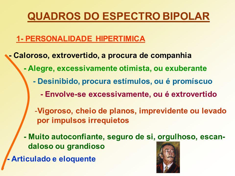 QUADROS DO ESPECTRO BIPOLAR