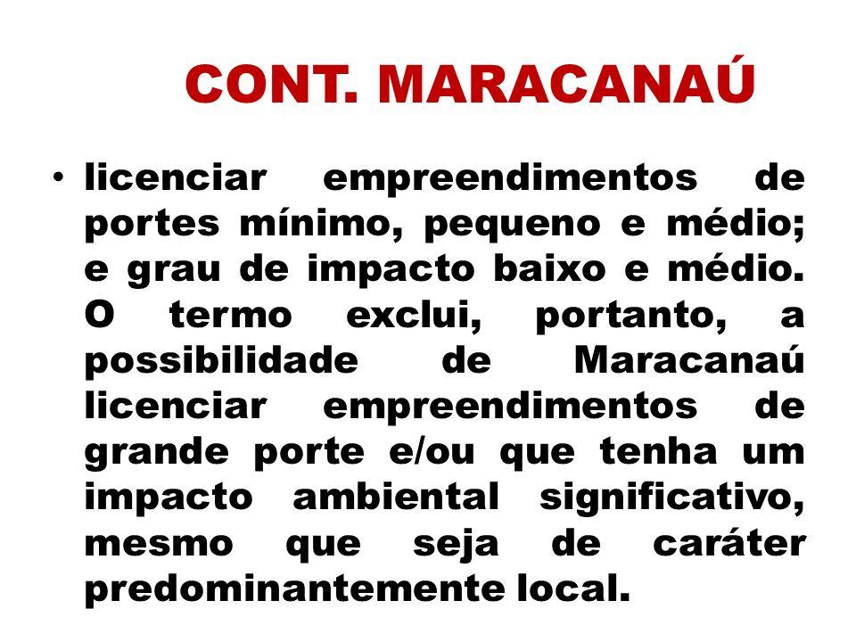 CONT. MARACANAÚ