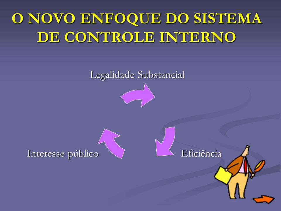 O NOVO ENFOQUE DO SISTEMA DE CONTROLE INTERNO