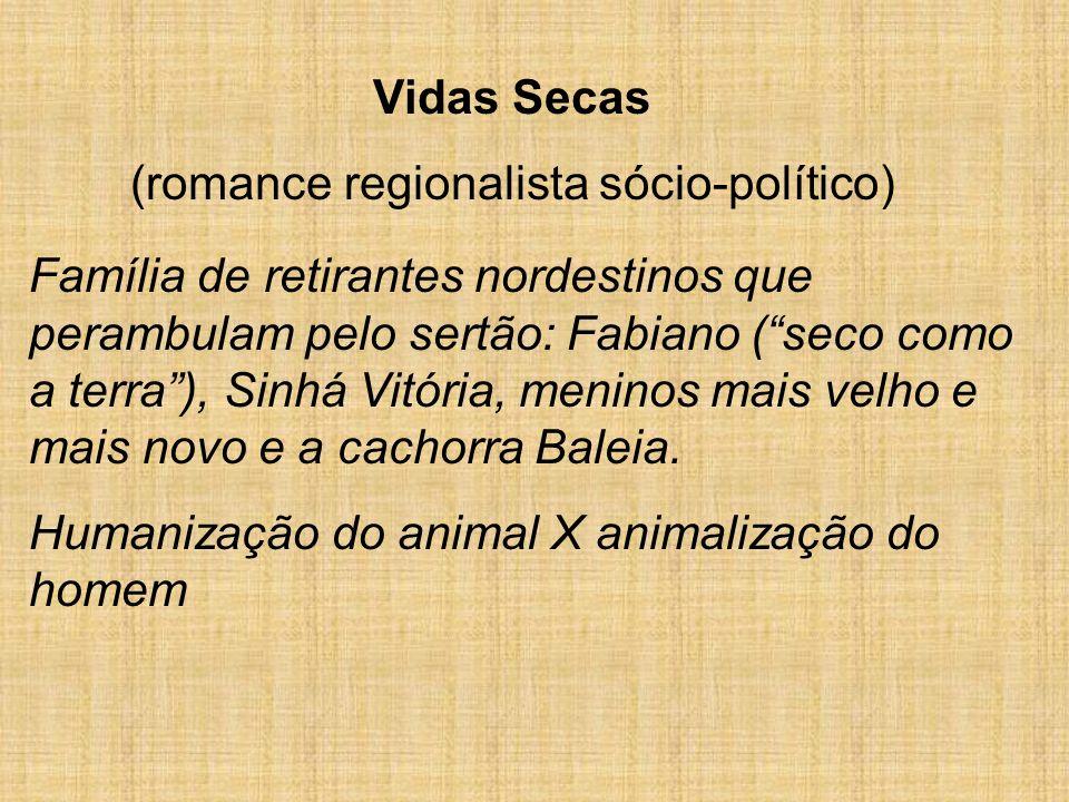 (romance regionalista sócio-político)