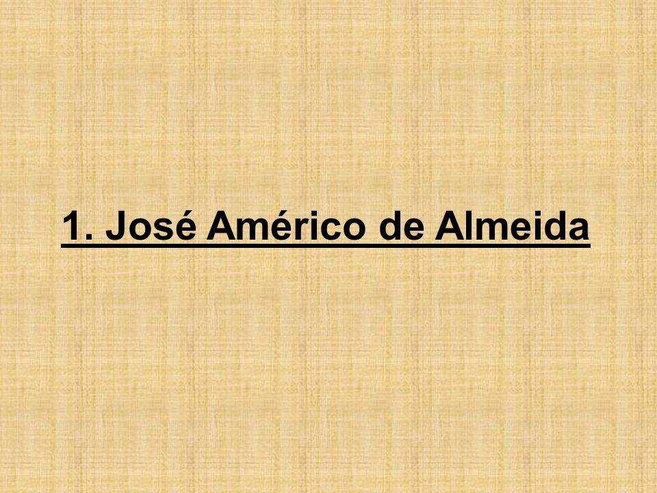 1. José Américo de Almeida