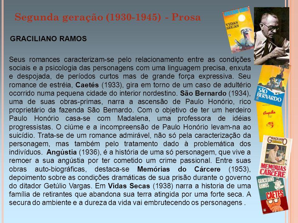 Segunda geração (1930-1945) - Prosa