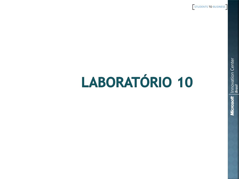 Laboratório 10