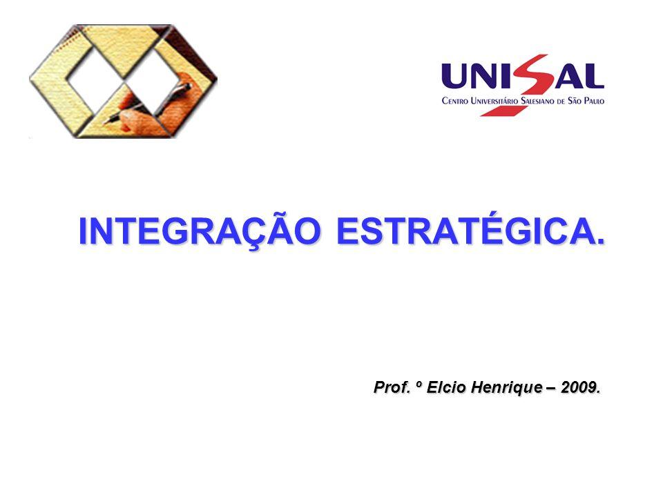 INTEGRAÇÃO ESTRATÉGICA.