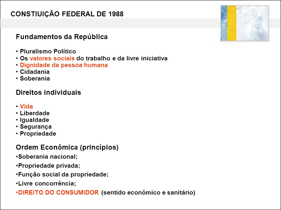 CONSTIUIÇÃO FEDERAL DE 1988