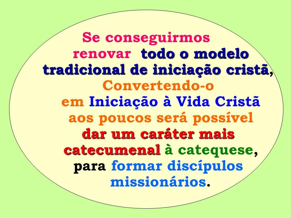 tradicional de iniciação cristã, Convertendo-o