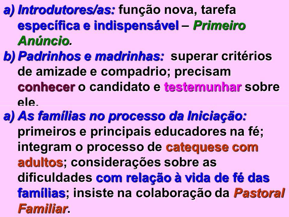 Introdutores/as: função nova, tarefa específica e indispensável – Primeiro Anúncio.