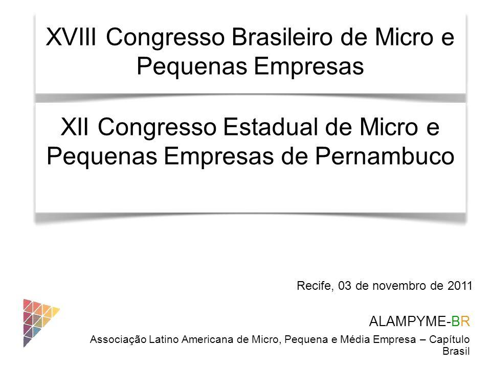 XVIII Congresso Brasileiro de Micro e Pequenas Empresas