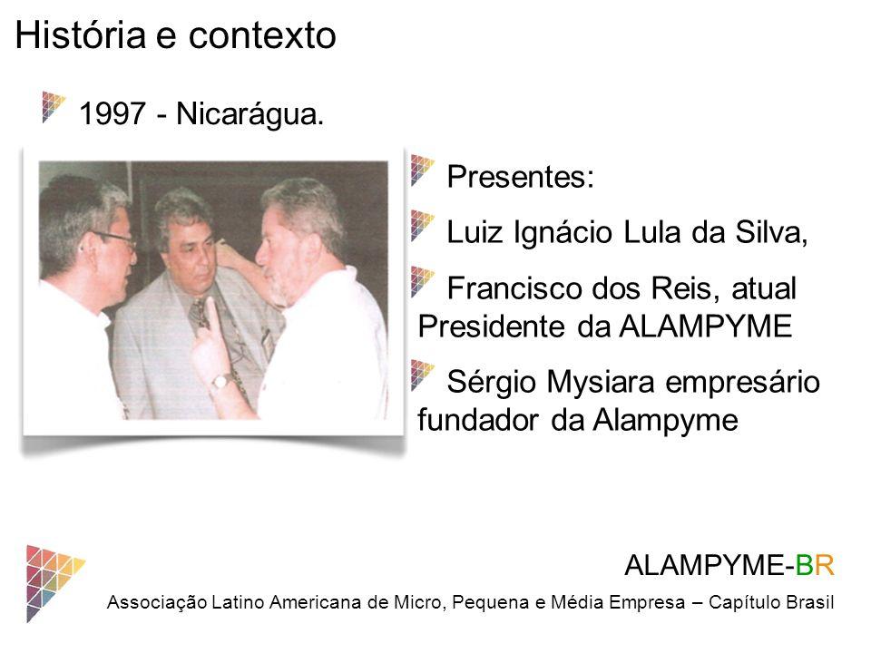 História e contexto 1997 - Nicarágua. Presentes: