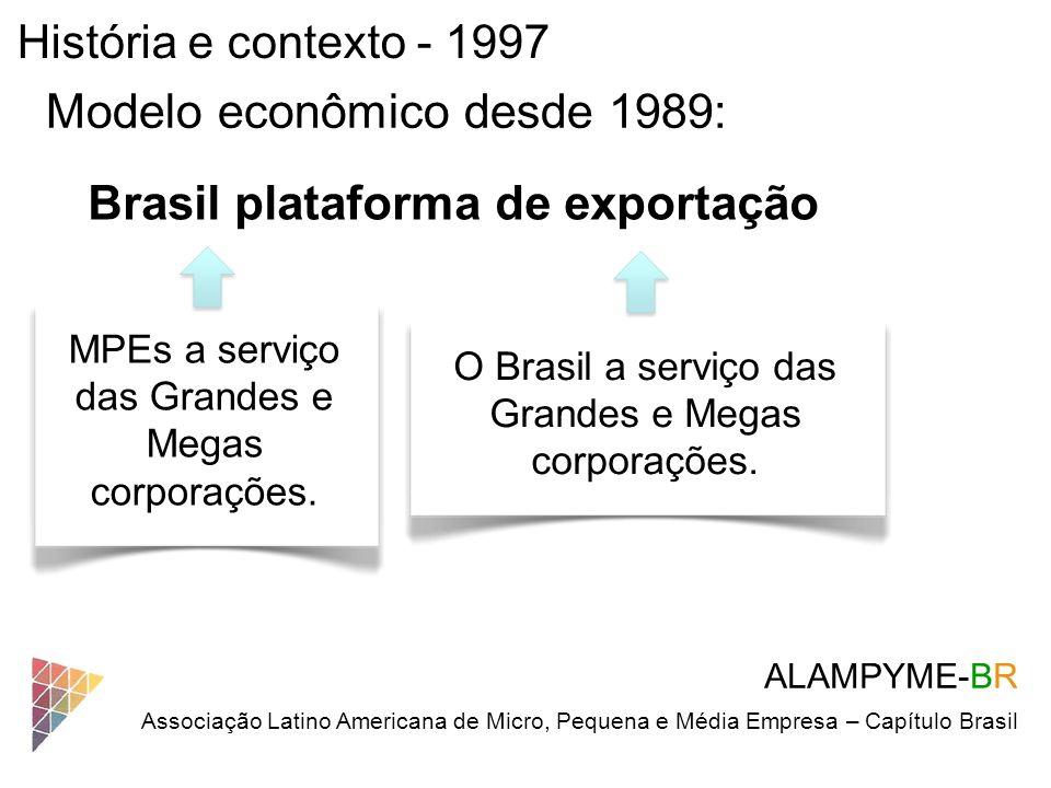 Modelo econômico desde 1989: