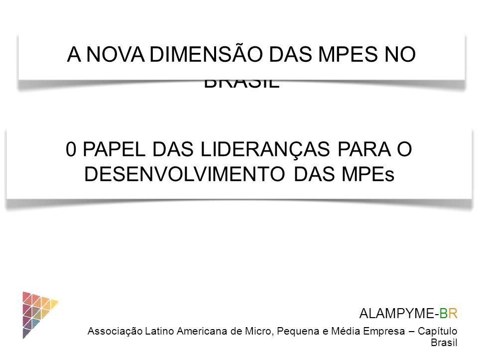 A NOVA DIMENSÃO DAS MPES NO BRASIL