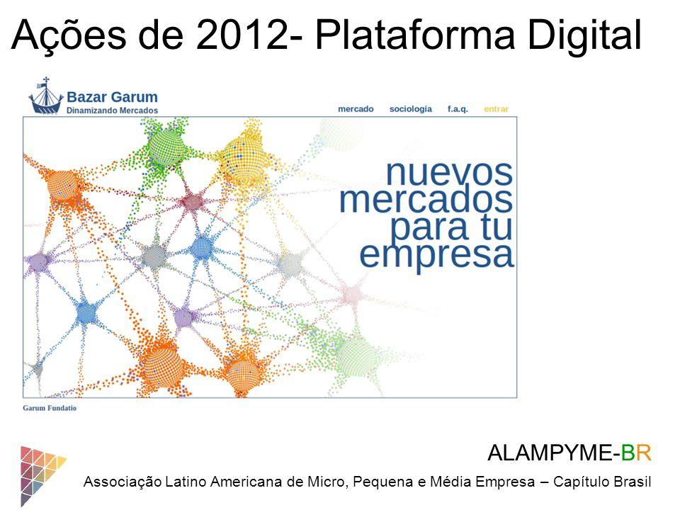 Ações de 2012- Plataforma Digital