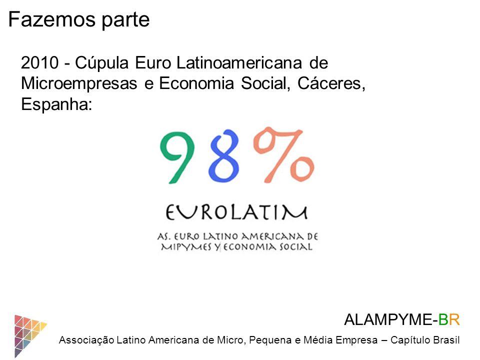 Fazemos parte 2010 - Cúpula Euro Latinoamericana de Microempresas e Economia Social, Cáceres, Espanha:
