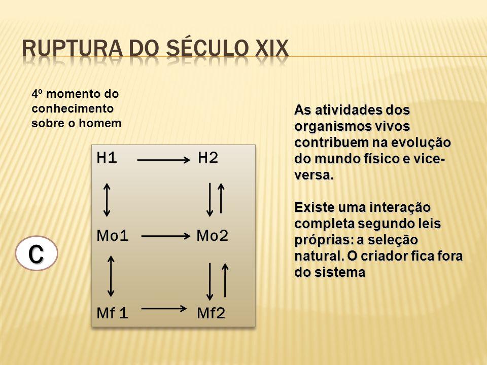 C Ruptura do século xix H1 H2 Mo1 Mo2 Mf 1 Mf2