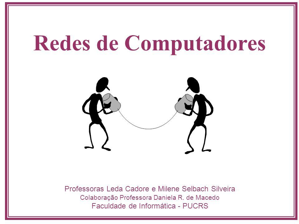 Redes de Computadores Professoras Leda Cadore e Milene Selbach Silveira. Colaboração Professora Daniela R. de Macedo.