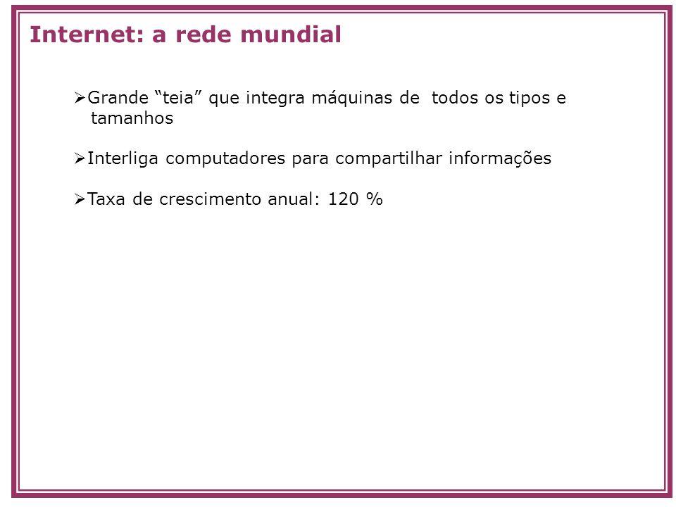 Internet: a rede mundial