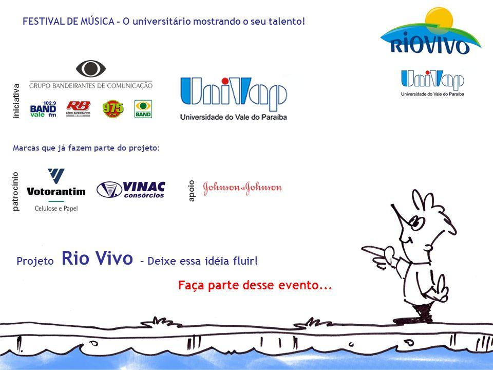 Projeto Rio Vivo – Deixe essa idéia fluir! Faça parte desse evento...