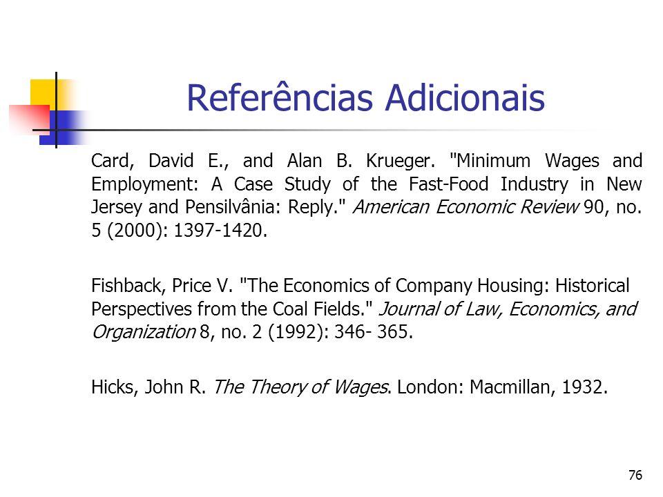 Referências Adicionais