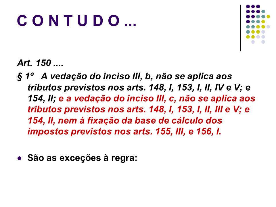 C O N T U D O ...Art. 150 ....