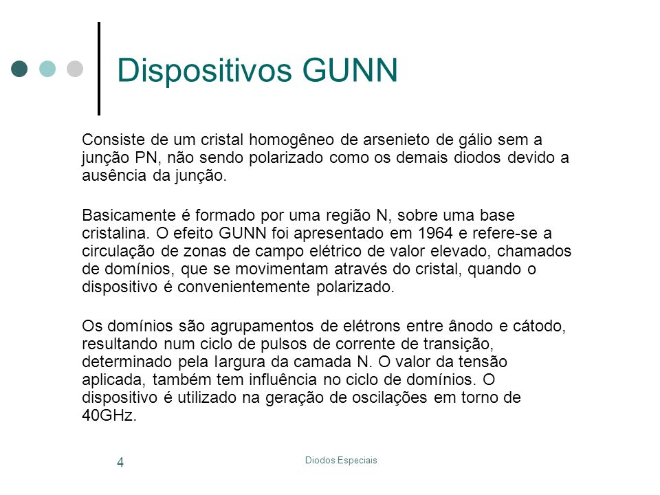 Dispositivos GUNN