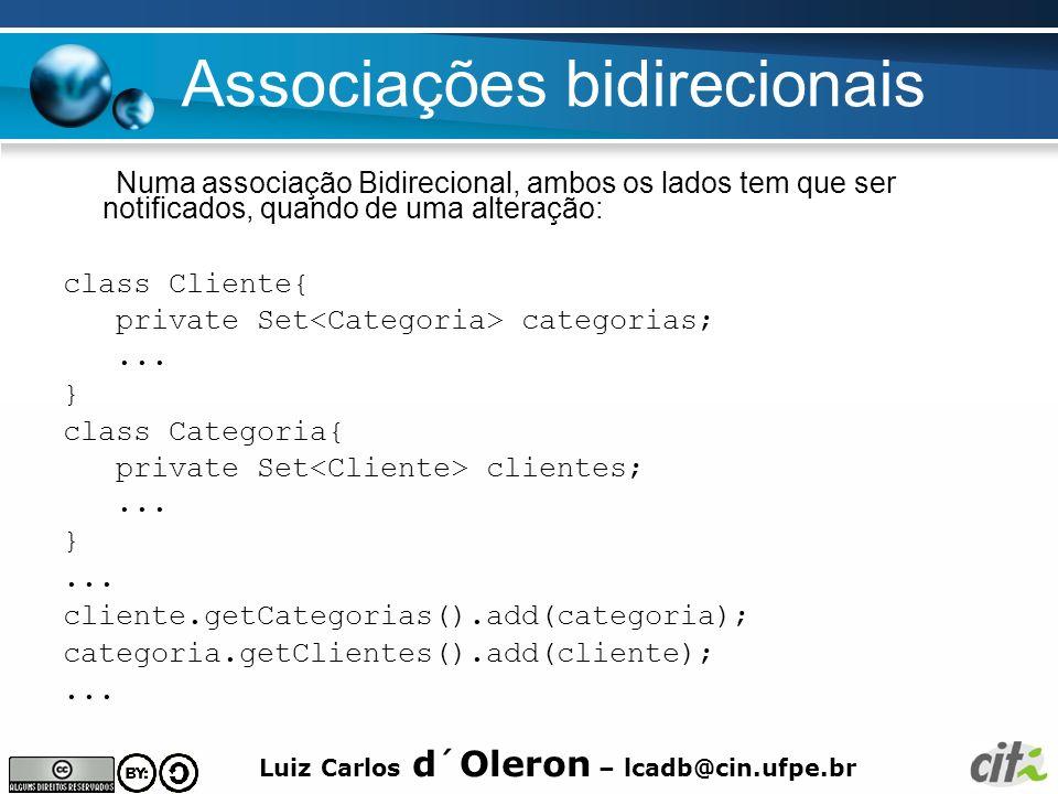 Associações bidirecionais
