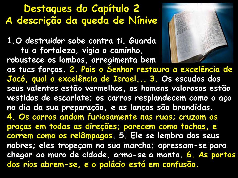 A descrição da queda de Nínive