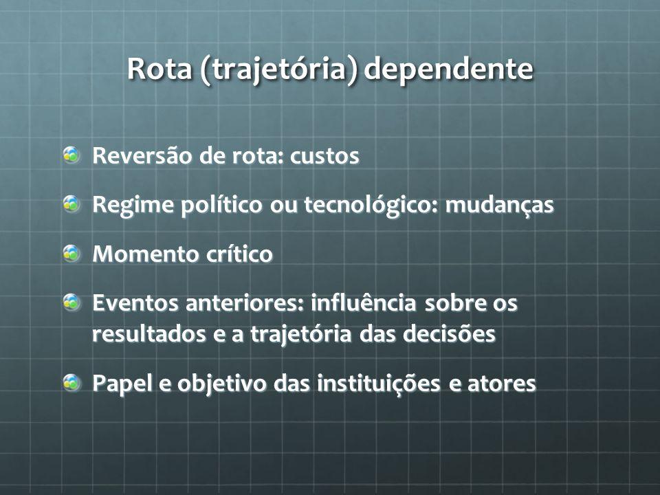Rota (trajetória) dependente