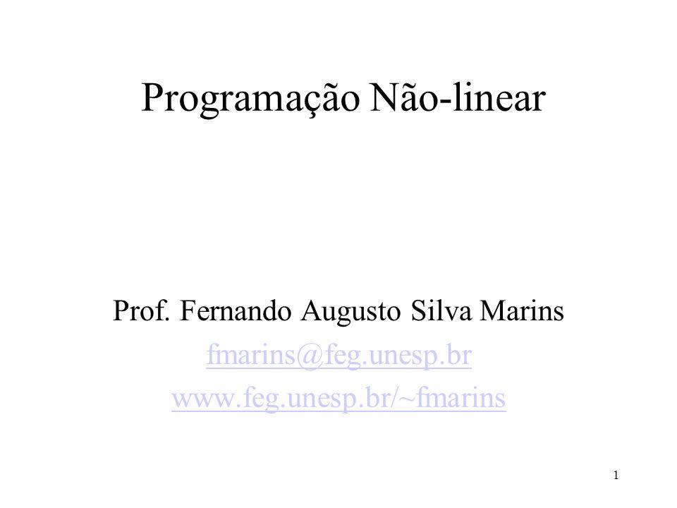 Programação Não-linear