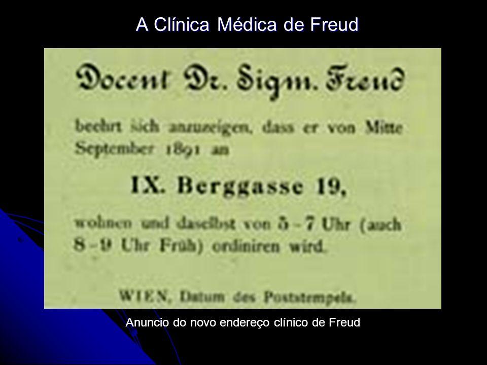 A Clínica Médica de Freud