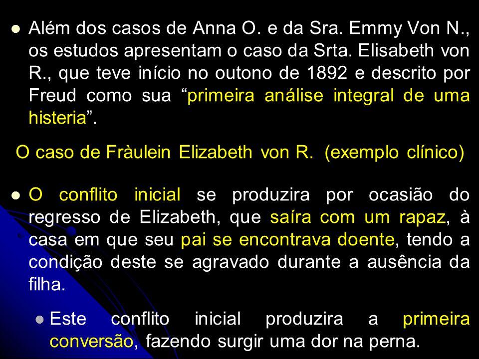 Além dos casos de Anna O. e da Sra. Emmy Von N