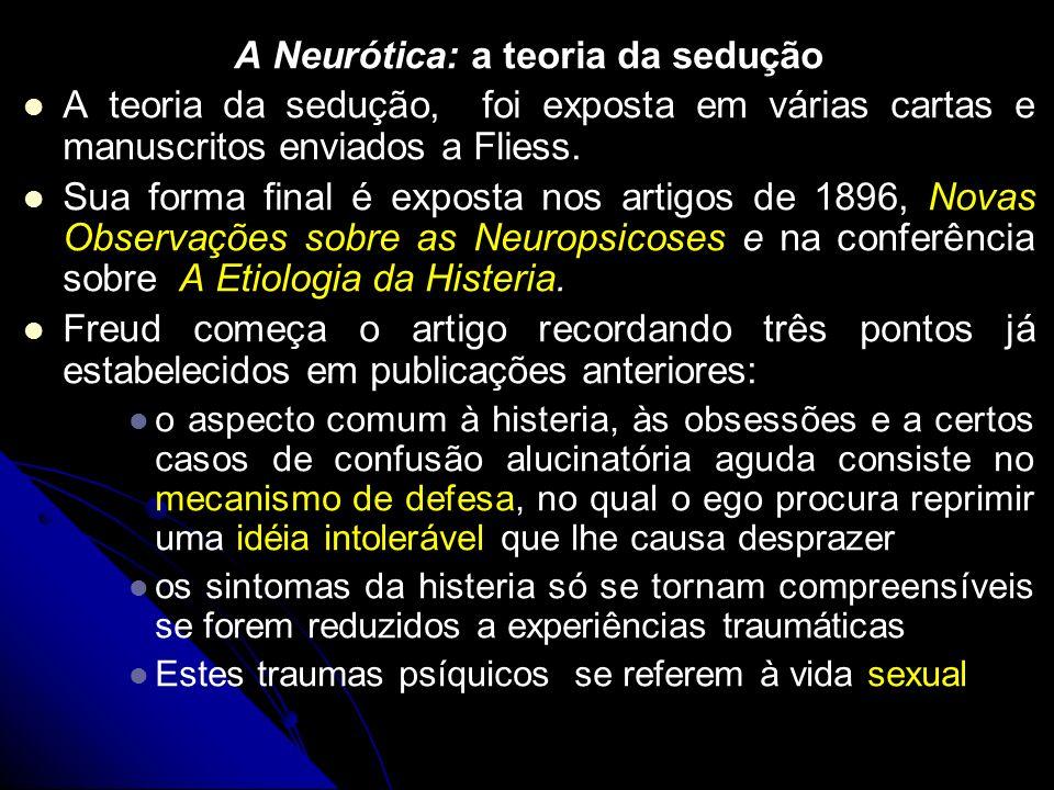 A Neurótica: a teoria da sedução