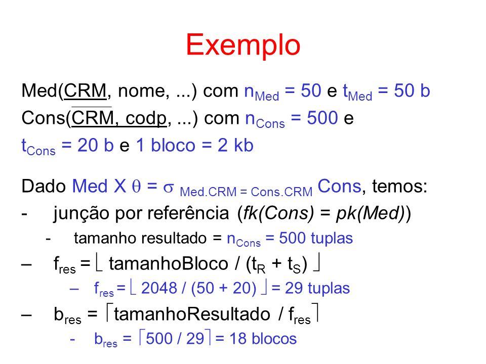 Exemplo Med(CRM, nome, ...) com nMed = 50 e tMed = 50 b